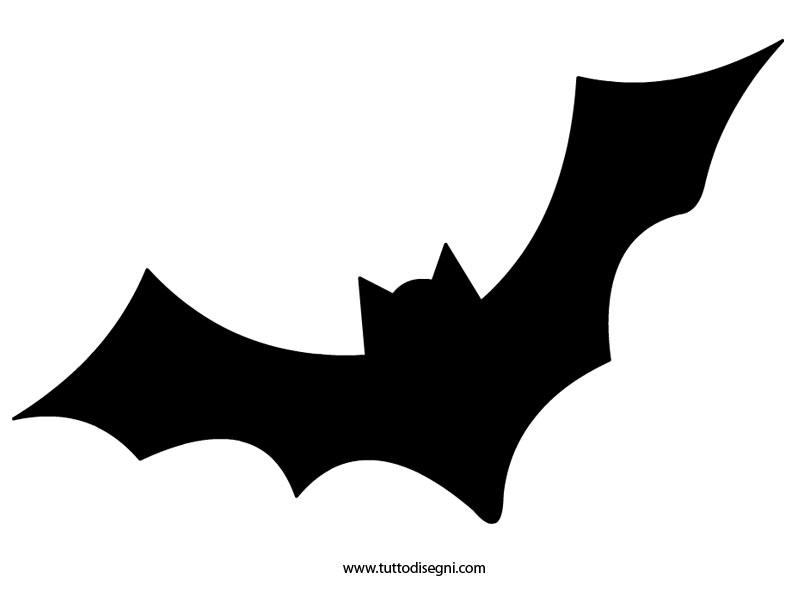 Sagoma pipistrello halloween quasi normale - Contorno immagine di pipistrello ...